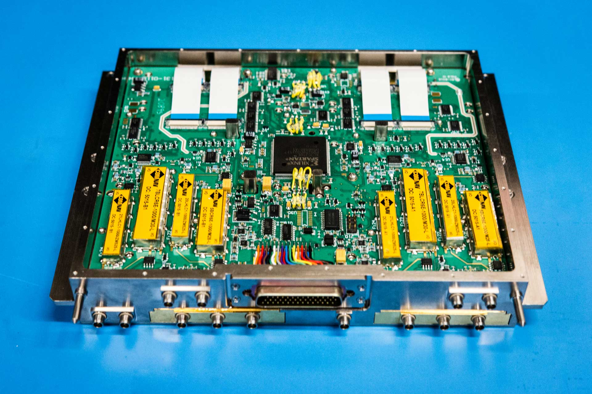 Teglaas specializes in creating microwave and millimeter wave components.
